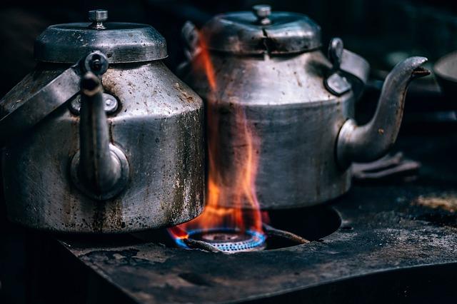 gotowanie wody